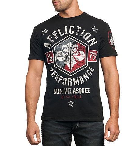 Affliction Cain Velasquez Team Short Sleeve Tee