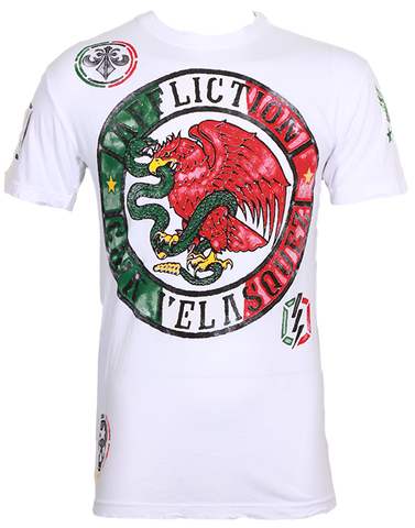 Affliction Cain Velasquez UFC 155 Walkout Tee White