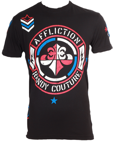 Affliction Couture Concept Tee Black