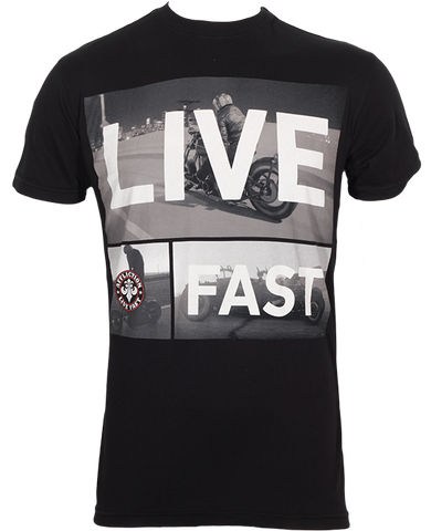 Affliction Creed Live Fast Tee