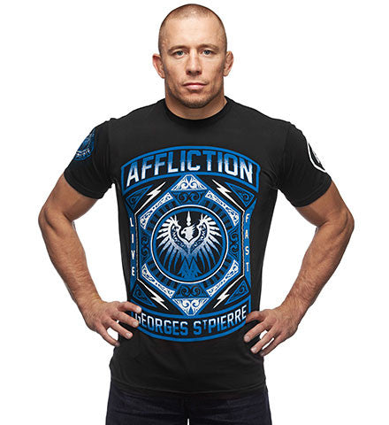 Affliction GSP Prestige UFC 158 Walkout Tee