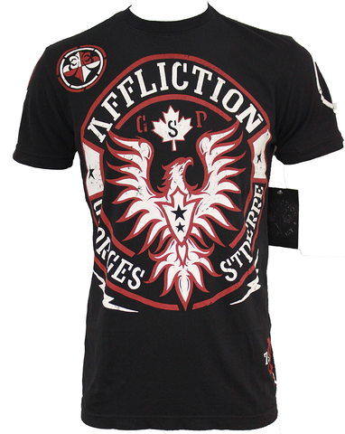Affliction Georges St Pierre GSP UFC 154 Rush Walkout Black
