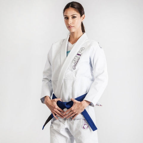 Grips Athletics  BJJ GI Ladies Amazona - White