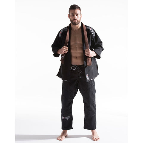 Grips Athletics  BJJ GI Secret Weapon Evo - Black
