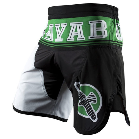 Hayabusa Flex Factor Training Shorts - Green / Black
