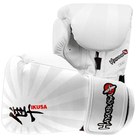 Hayabusa Ikusa 10oz Gloves White