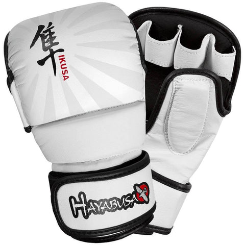 Hayabusa Ikusa 7oz Hybrid Gloves - White