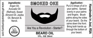 Beard Oil: Smoked Oke - Are You a Revolution-Starter?