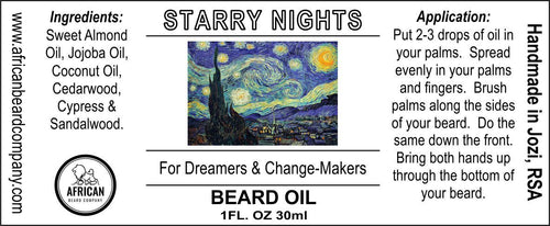 Beard Oil: Starry Nights - For Dreamers & Change-Makers
