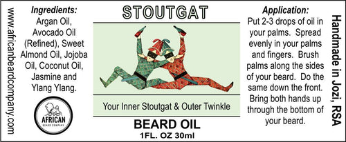Beard Oil: Stoutgat - Your Inner Stoutgat & Outer Twinkle