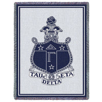 Delta Gamma Throw Blanket - My Gift Obsession