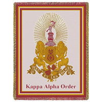 Kappa Alpha Order Throw Blanket - My Gift Obsession