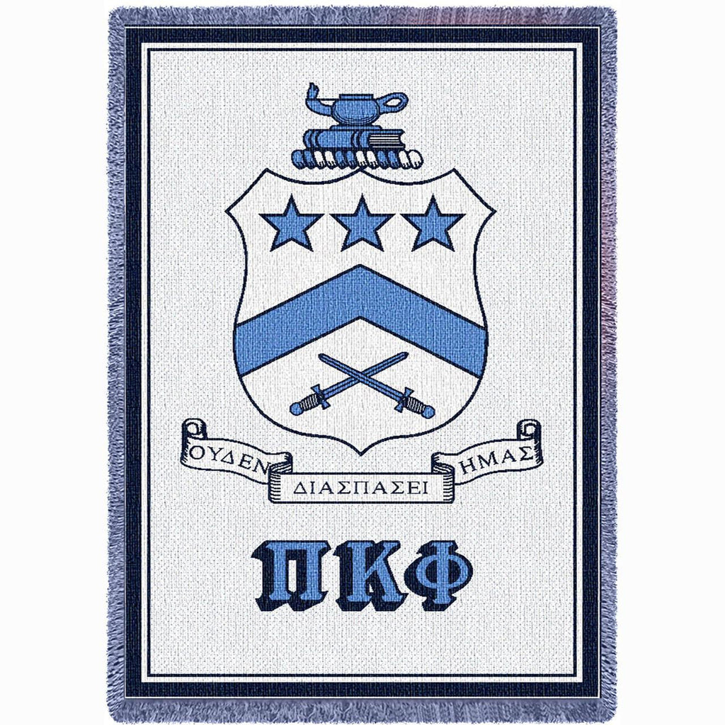 PI KAPPA PHI (2) AFGHAN THROW BLANKET