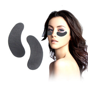 BLACK - Lint Free Eye Pads (25 Pairs)