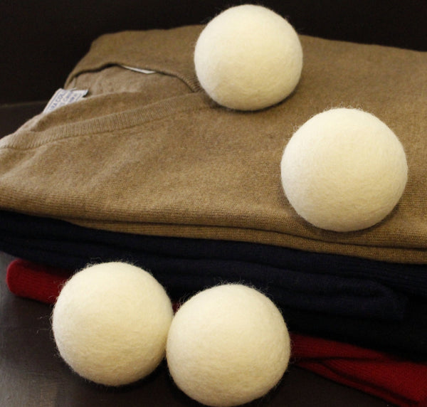 i-Gruv Wool Dryer Balls by i-Gruv set of 6 XL ~ Hand Made Pure Eco Friendly 100% New Zealand Wool, All Natural Fabric Softener ~ Anti Static Laundry, ~ Organic, Reusable Felt Hypoallergenic Ball ~ No Dryer Sheets ~ Best for New Born Baby Mom to Be