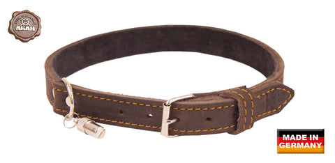 Akah Traditional Gun Dog Leather Collars