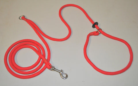 6mm Jaeger (Round the Body) Slip Lead (Smaller dogs)