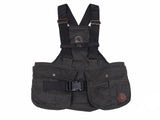 NEW BROWN WAXED Light Dummy Vest (Canvas Back)