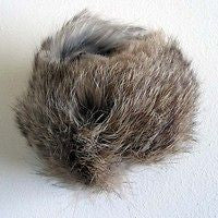 Furry Tennis Ball (Rabbit Fur)