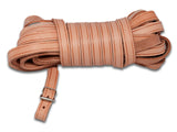 Bloodhound Flattened Leather Leash