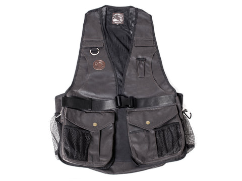 *NEW* BROWN WAXED Mystique® Dummy vest Profi COOL