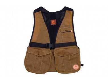NEW BROWN WAXED Firedog Hunter Air Vest