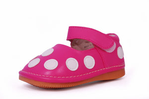"Mary Jane ""Pink Spot"" Shoes"
