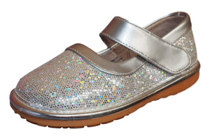 Silver Sparkle Mary Jane Shoe