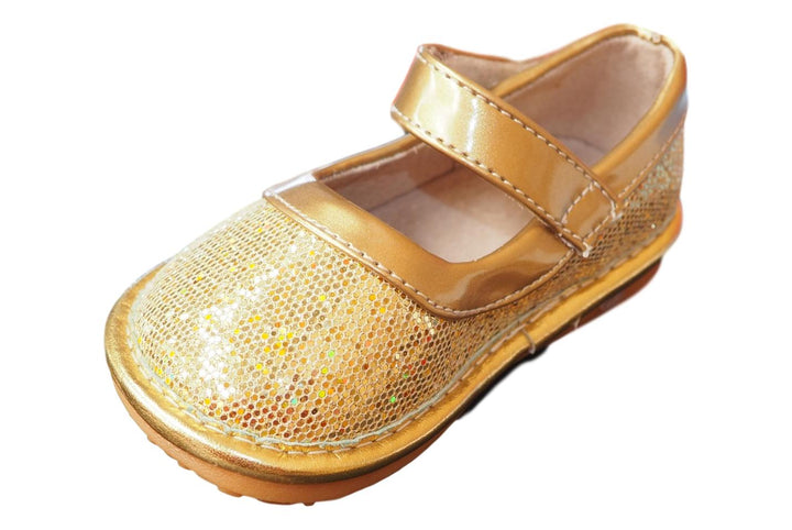 Gold Sparkle Mary Jane Shoe