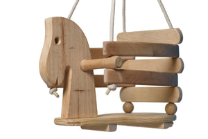 Eco Friendly Horse Swing Set