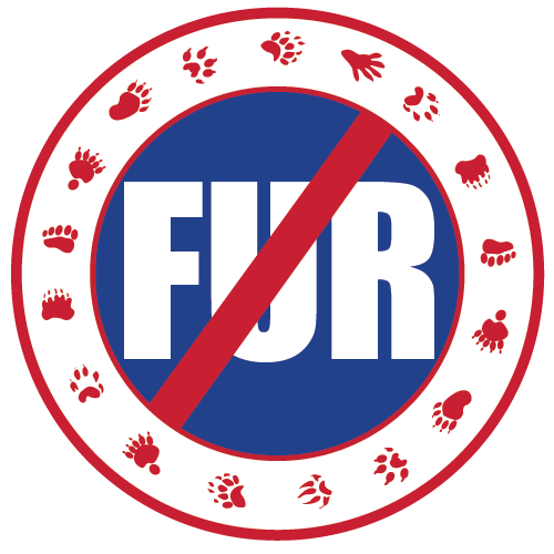 no-FUR stickers (pack of 25)
