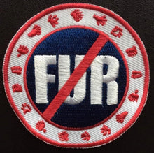 no-FUR sew on patch