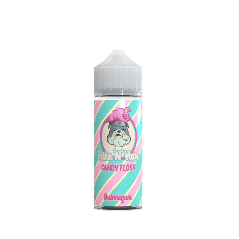 Bake 'N' Vape Bubblegum Candy Floss e-liquid