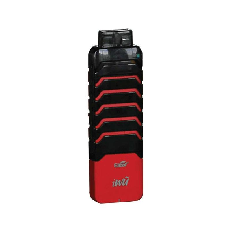 IWU Pod Kit by Eleaf black red