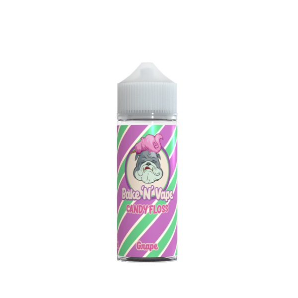 Bake 'N' Vape Grape Candy Floss e-liquid