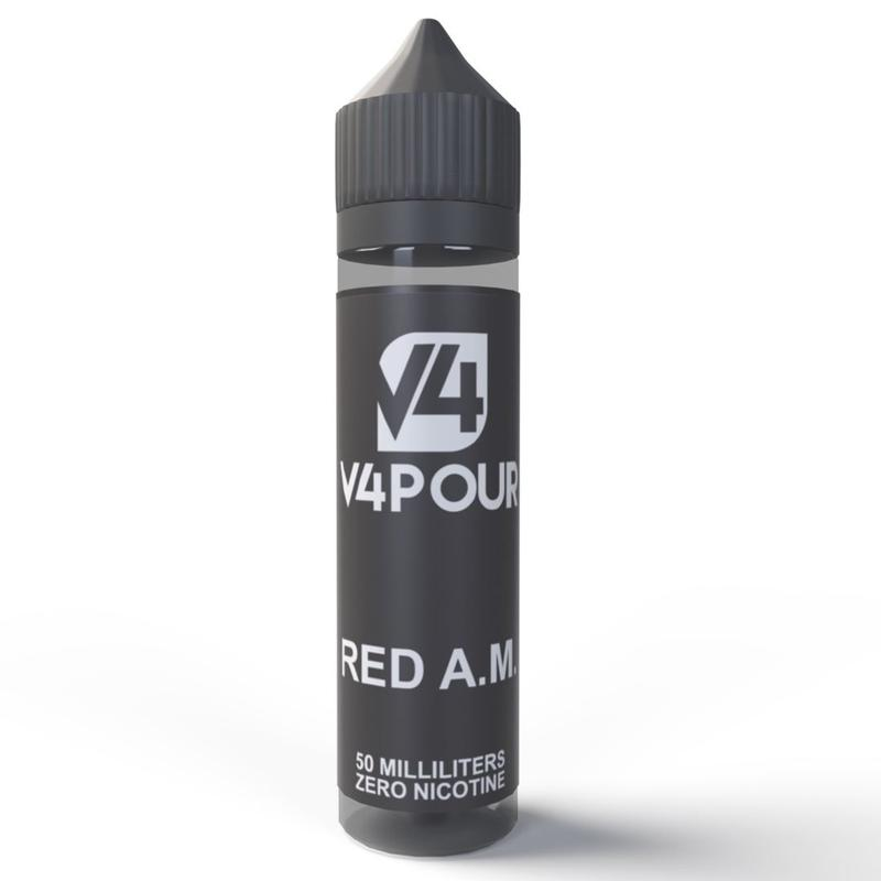V4POUR Red A.M. e-liquid by Juice Sauz