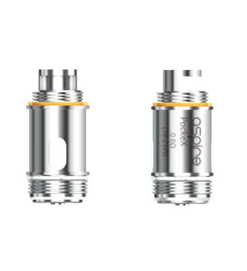 Pockex Coils - By Aspire (5 Pack) - VIP Vapers Uk