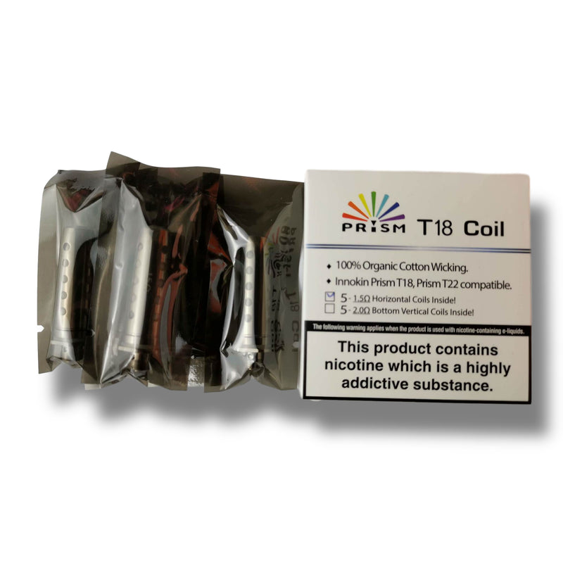 Innokin Prism T18 Coils and T18E (5 pack)