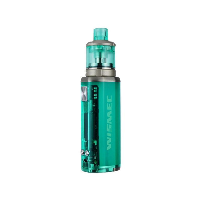 Sinuous V80 E-Cig Kit by Wismec green