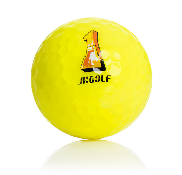 JR Golf Balls for Young Players, 6 Pack