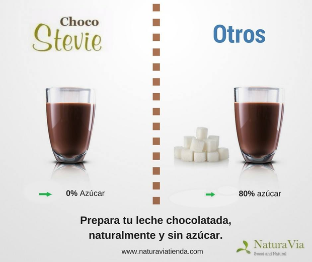 ChocoStevie de 650 gr