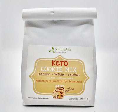 Keto Cookie Mix - Harina para preparar galletas con chispas