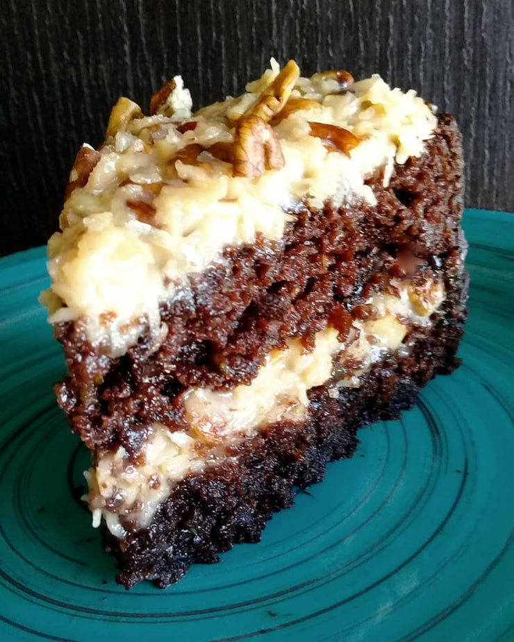 Receta Keto German Chocolate Cake