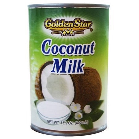 Crema de Coco Libre de Azúcar GOLDEN STAR 400 ml