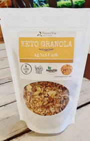 Keto Nut Granola con Monk Fruit - 250g
