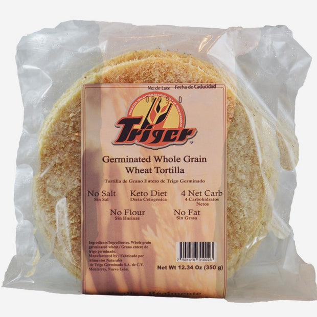 Tortillas Low Carb Triger de Trigo Germinado  350 g
