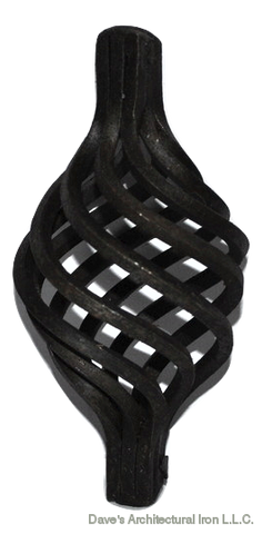 "Basket Carbon Steel fits 5/8"" BS2-CS"
