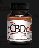CBD Oil Softgels- Raw 5mg. 30ct.