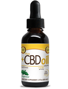 CBD Oil Drops - Peppermint 1 oz.