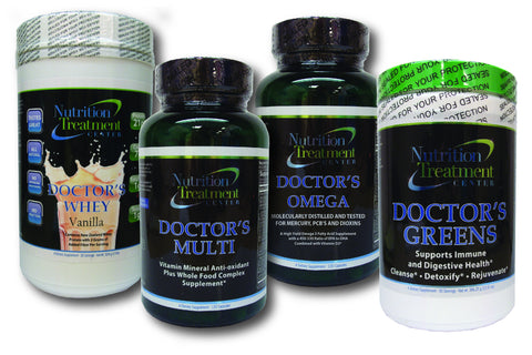 Doctor's Core 4 Kit - Whey Option